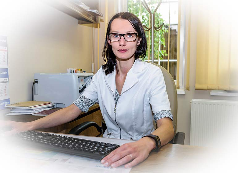 Lekarz - lek. med. Anna Rakowiecka
