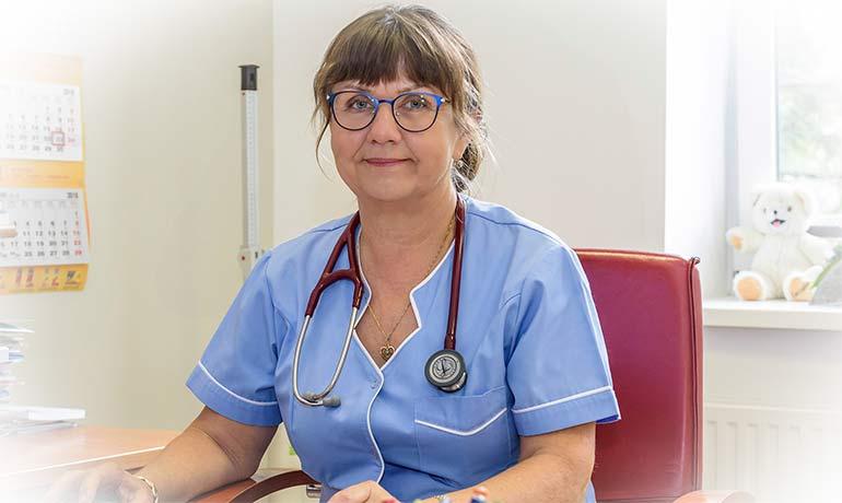 Lekarz - lek. med. Iwona Bakalarz