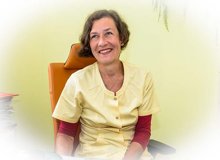 Lekarz - lek. med. Maria Rybacka