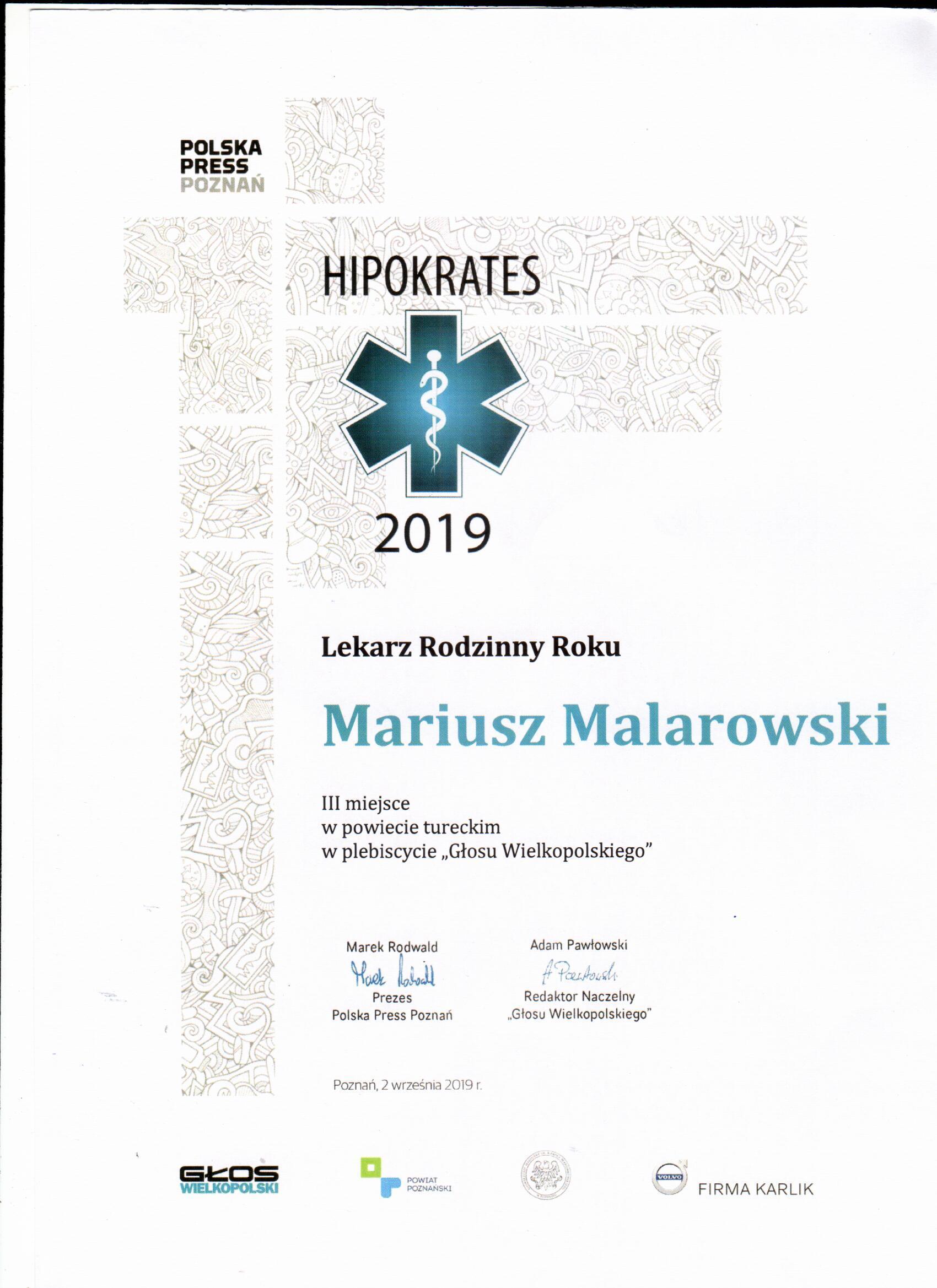 Hipokrates 2019